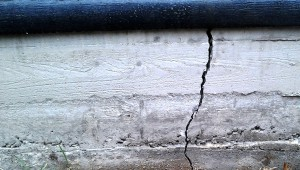 Cracking In Concrete Overloading of structure